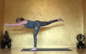 Redende Yogasequenz